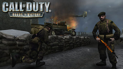 Call of Duty Roads to Victory PSP PPSSPP